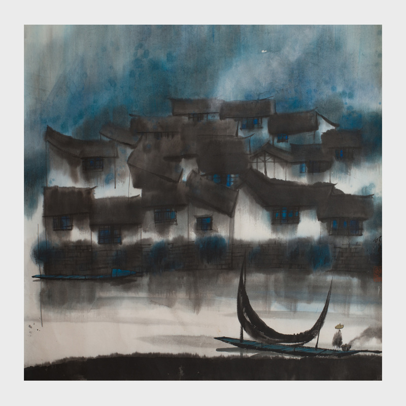 Yang Mingyi (b. 1943): Houses on the River