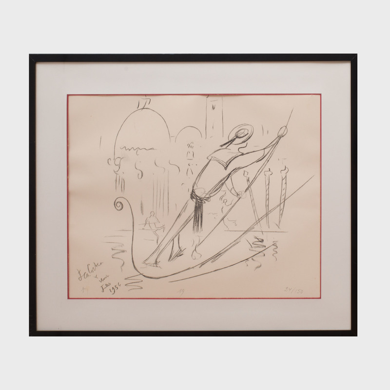 Jean Cocteau (1889-1963): Venice