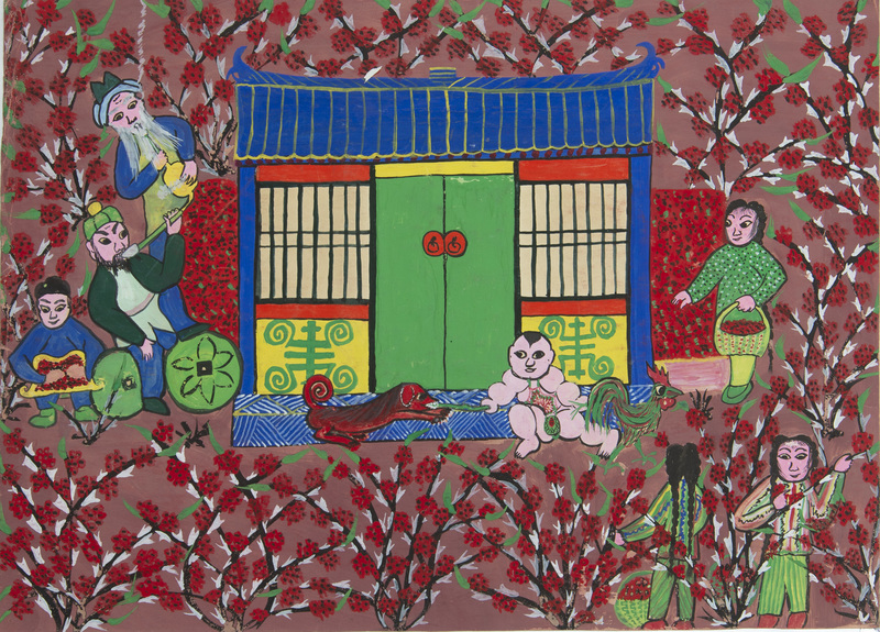Chinese School (20th Century): The Year of the Dog
