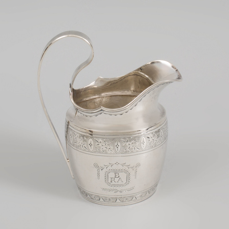 George III Irish Silver Creamer