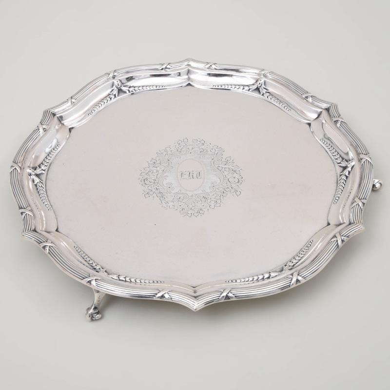 Edward VII Silver Salver