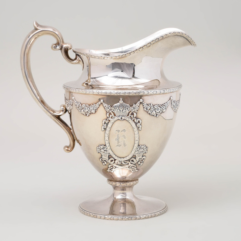 American Silver Pitcher