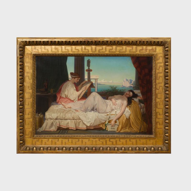 Attributed to Jean-Louis Hamon (1821-1874): Grecian Ladies