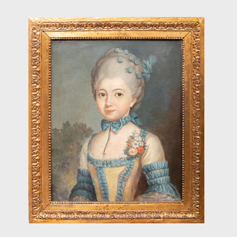 Continental School: Portrait of a Lady