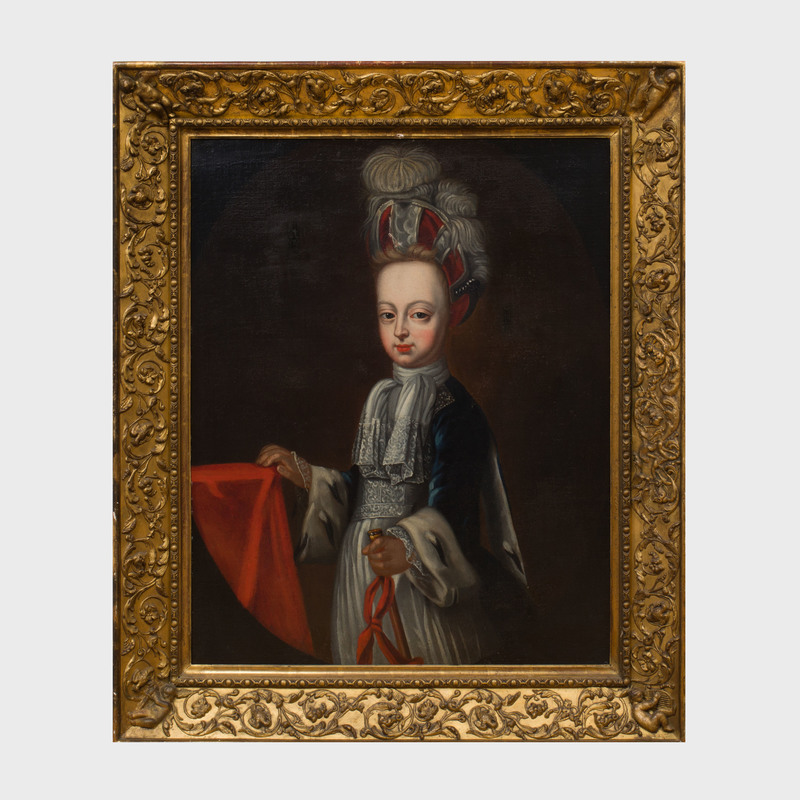 Follower of Charles Beaubrun (1604-1692): Portrait of a Young Boy