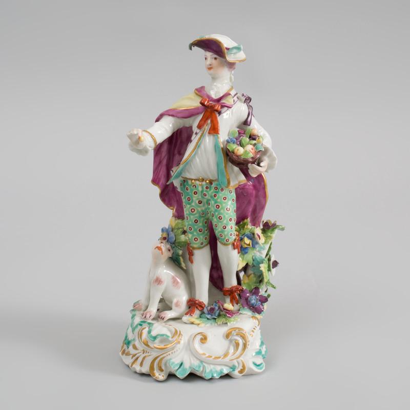 Derby Porcelain Figure of the Dresden Shepherd
