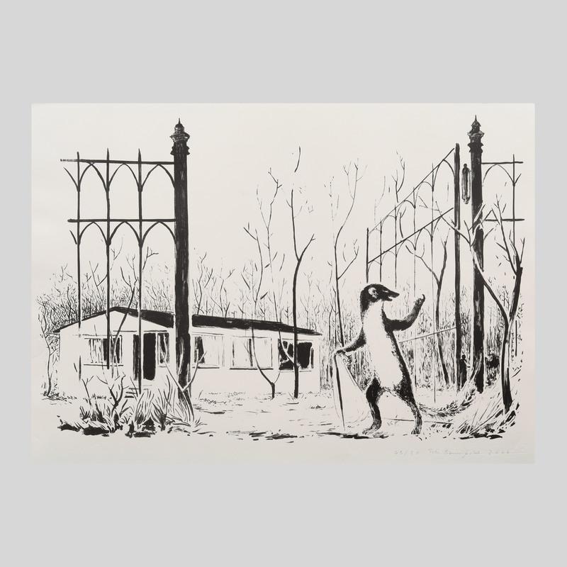 Tilo Baumgärtel (b. 1972): Ohne titel