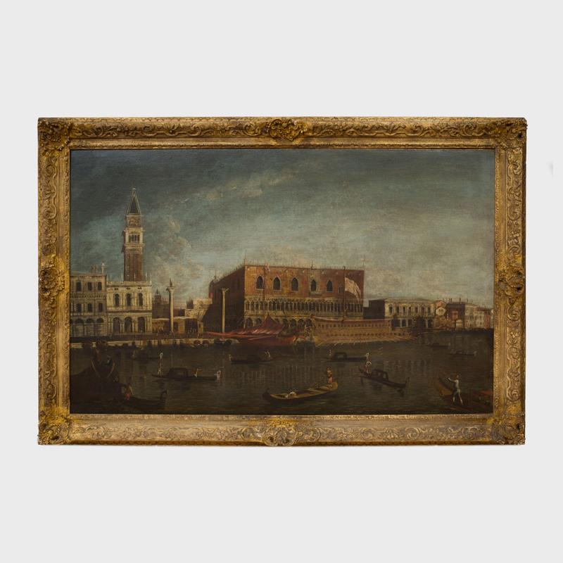 School of Michele Giovanni Marieschi (1696/1710-1743): A View of the Bacino di San Marco, Venice