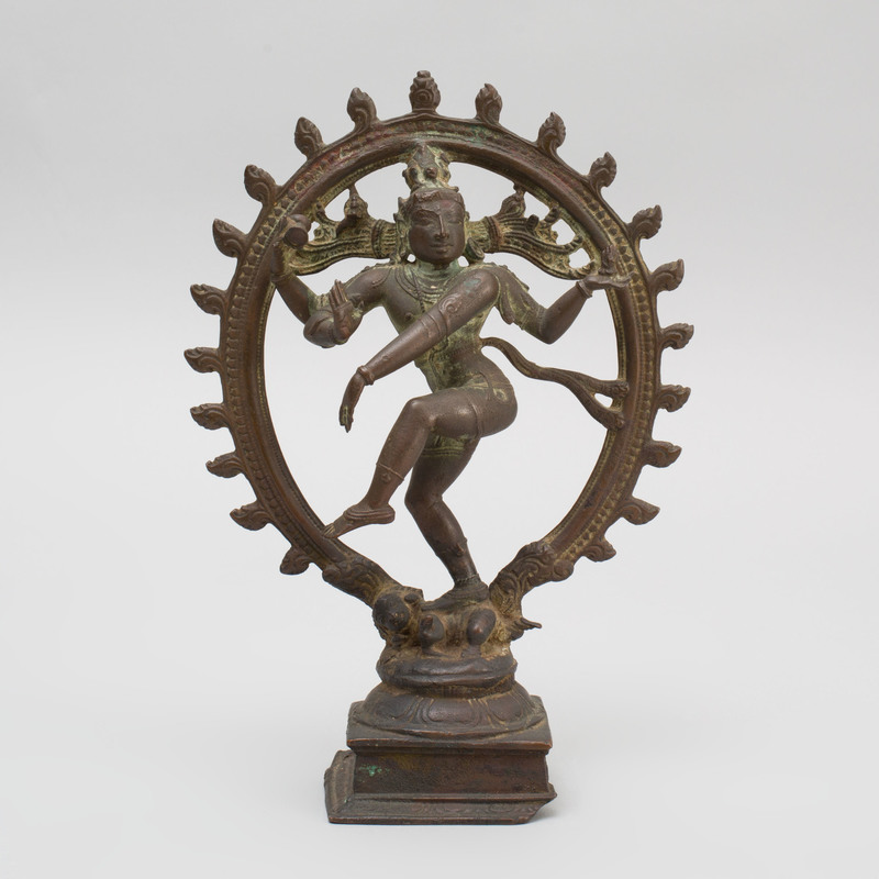 South India Bronze Figure of Shiva Nataraja, Tamil Nadu