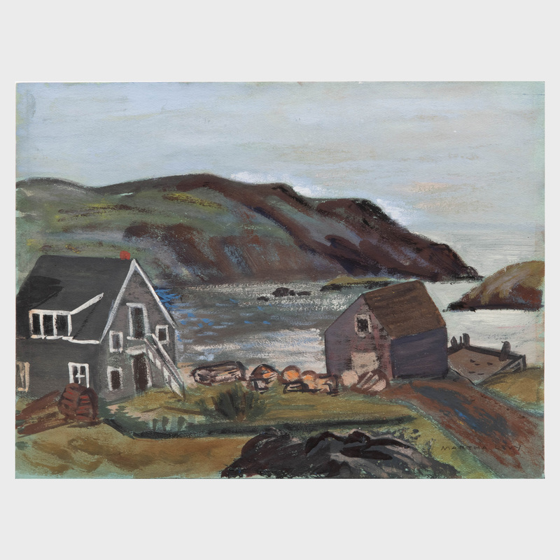 Martha Levy: Monhegan: Four Views