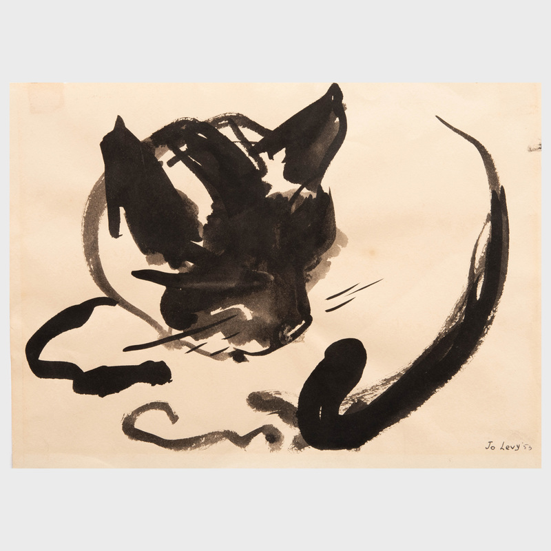Jo Levy (1904-1996): A Group of Five Works on Paper