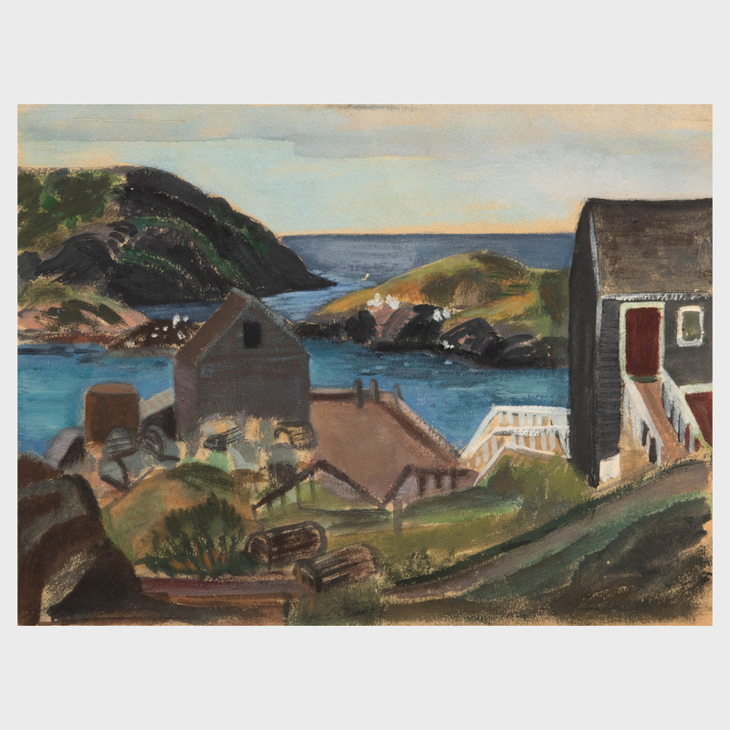 Martha Levy: Rockport;  Harbor View; and  Rocky Shore