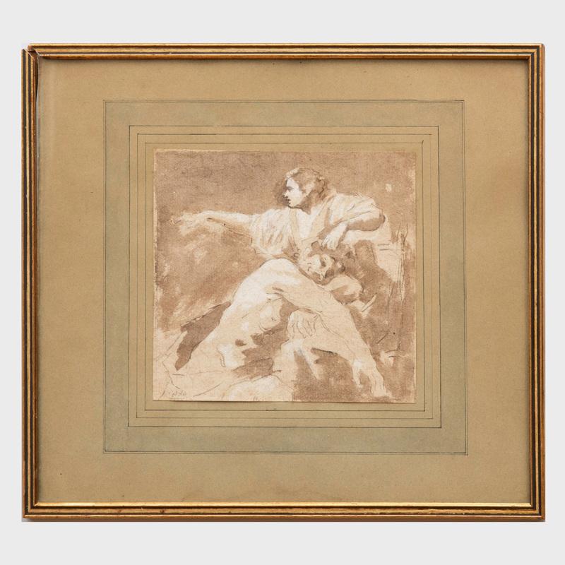 French School: Samson and Delilah
