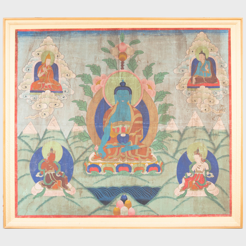Asian School: Seated Buddha