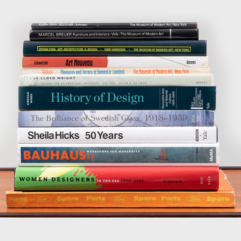 Group of Eleven Books on Design