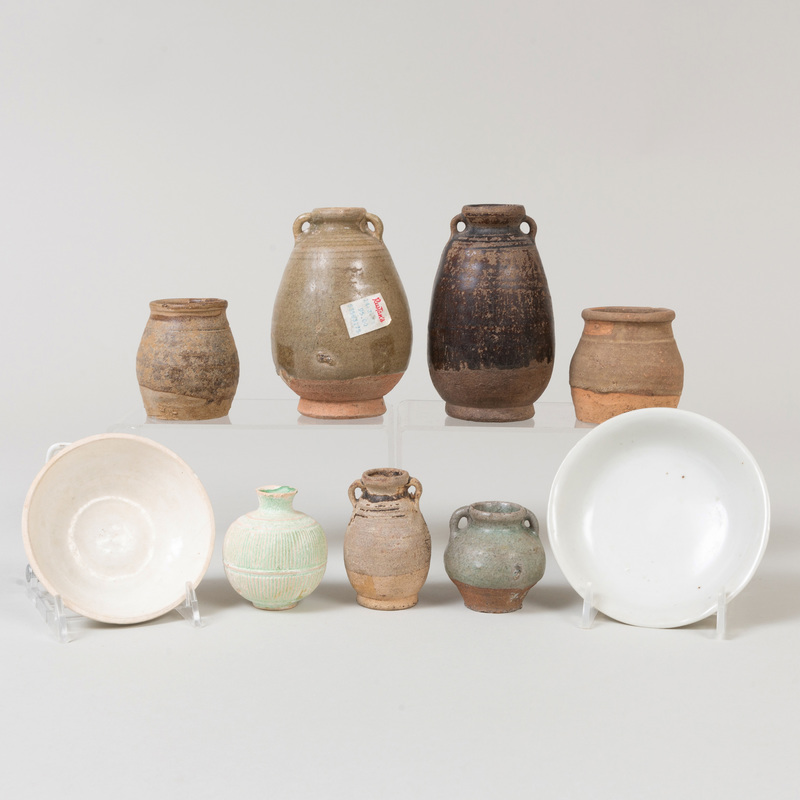 Group of Chinese Porcelain and Earthenware Vessels