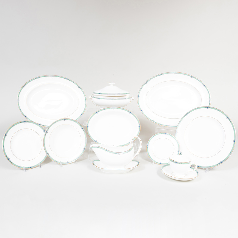 Wedgwood Porcelain Part Dinner Service
