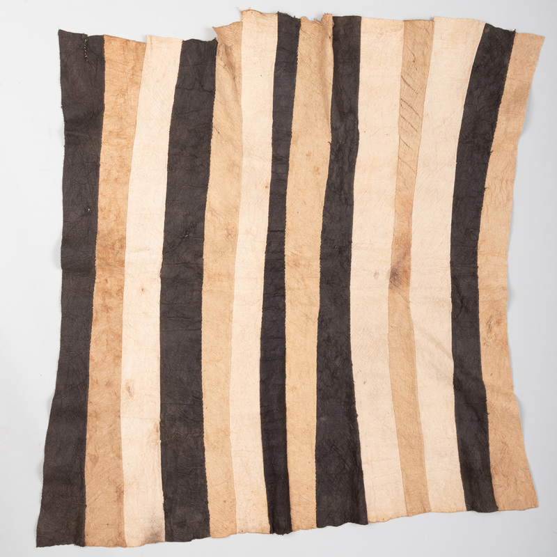 Three Mbuti Pygmy Bark Cloths, Ituri Rain Forest, Democratic Republic of the Congo