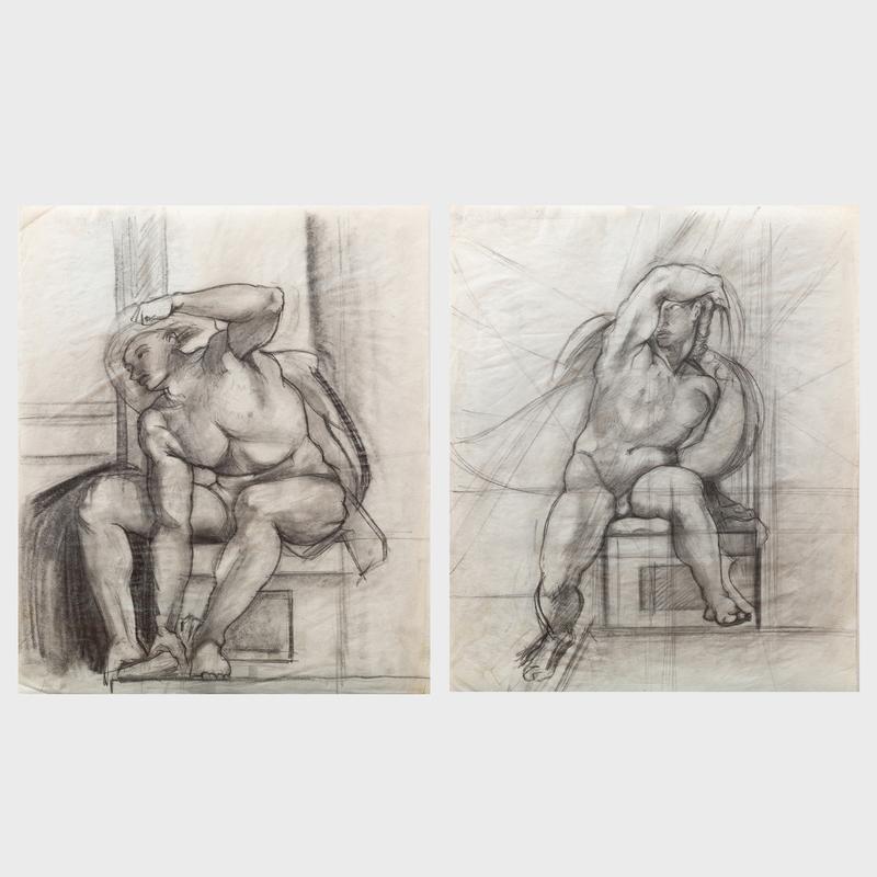Domenick Turturro (1936-2002): Nude; and Nude