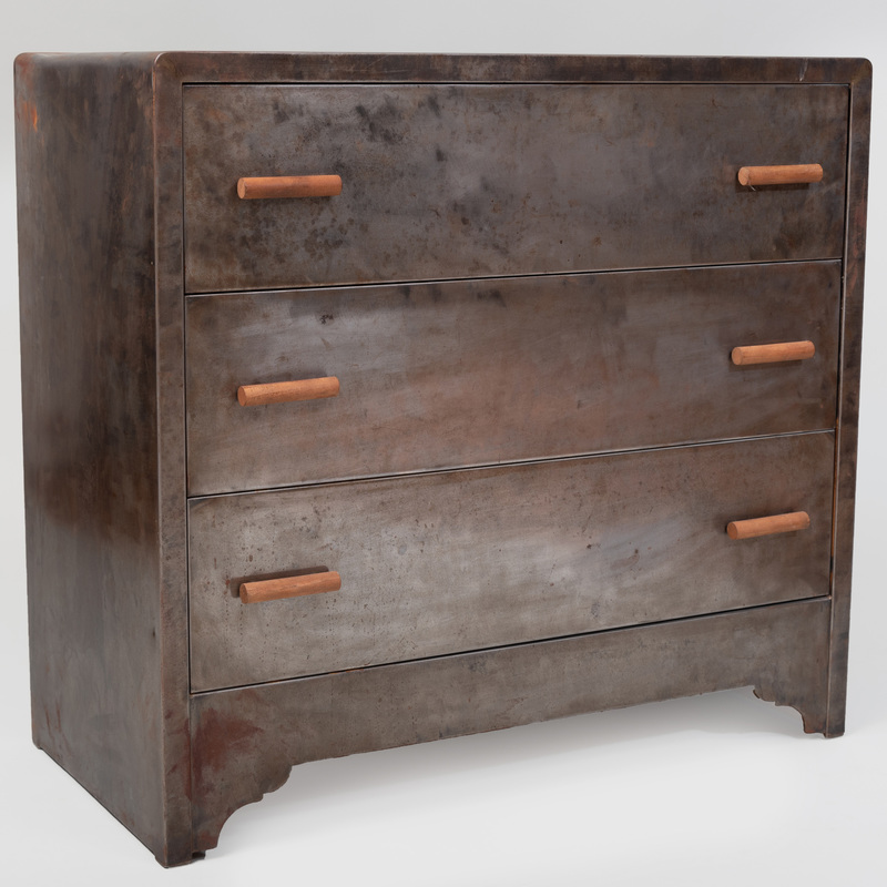 Modern Metal Chest of Drawers