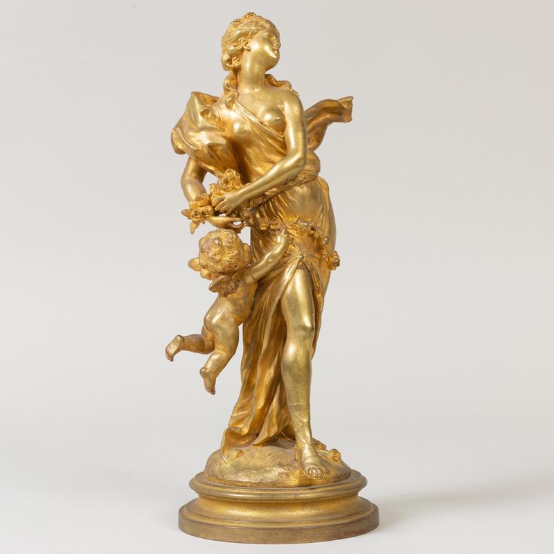 Jacques Marin (1877-1950): Venus and Cupid