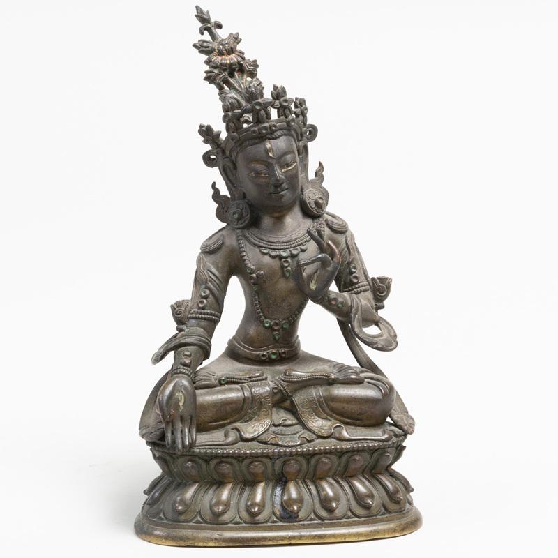 Sino-Tibetan Bronze Figure of Tara