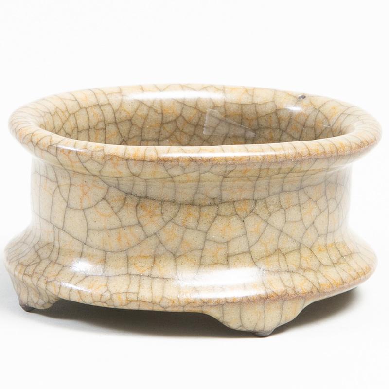 Chinese Crackle Glazed Quan Type Censer