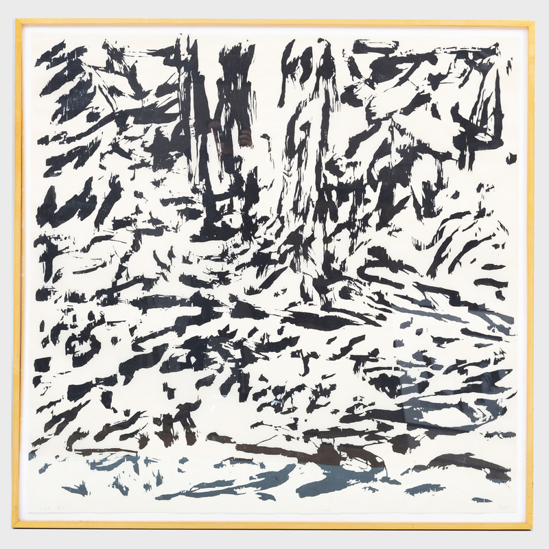 Sandy Walker (b. 1942): Forest Interior