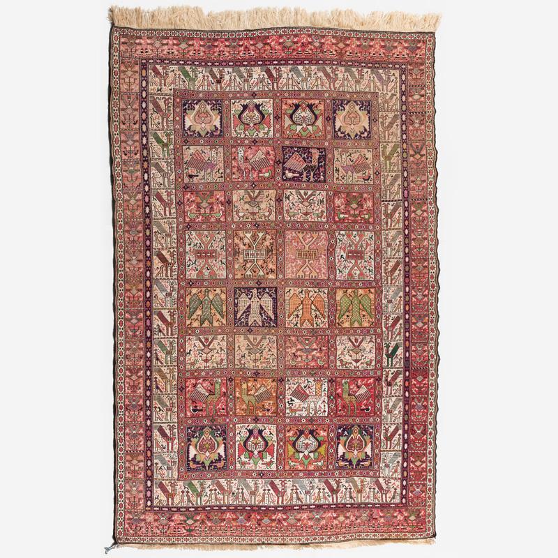 Persian Silk Soumac Carpet