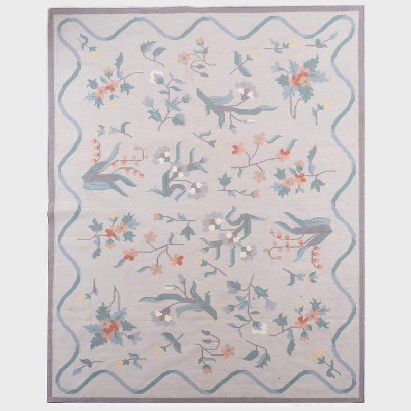 Indian Wool Dhurrie Carpet