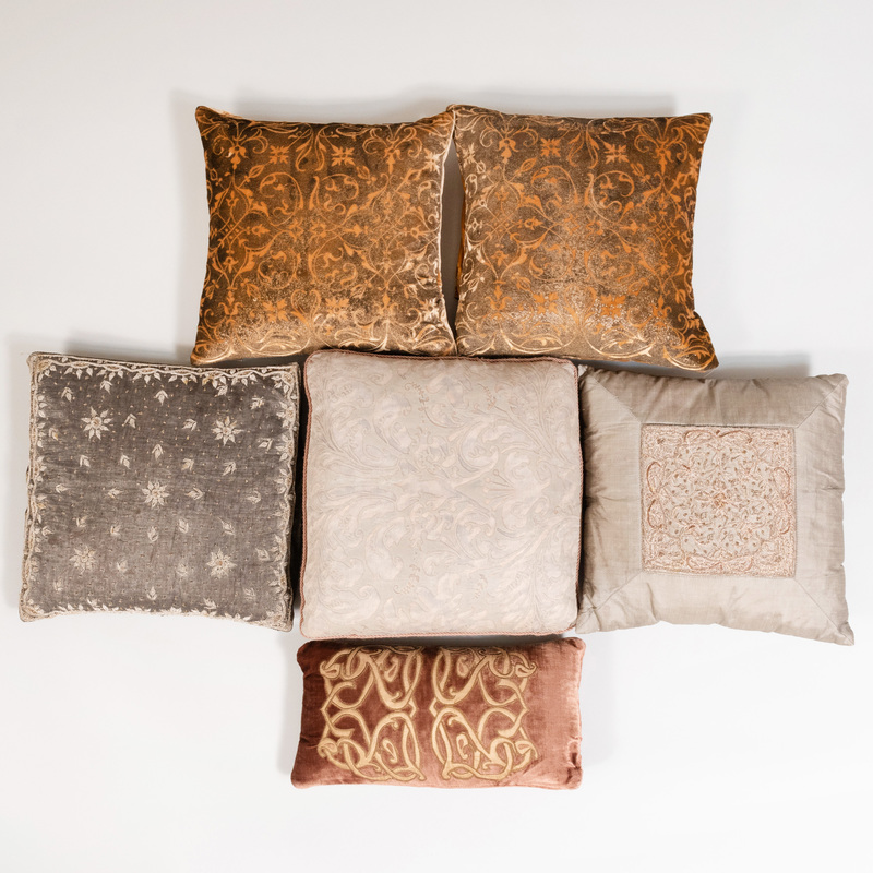 Group of Six Pillows