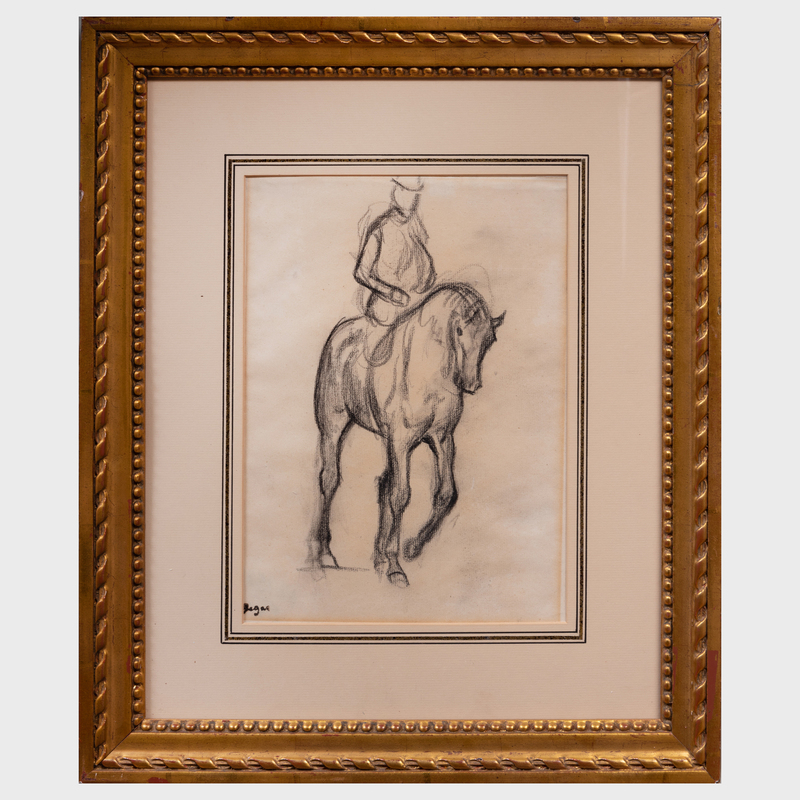 Edgar Degas (1834-1917): Gentleman-rider
