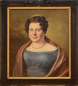 ATTRIBUTED TO FRANÇOIS JACQUIN (1756-1826): PORTRAIT OF JACOB DIEDERICK COENEN; AND PORTRAIT OF SARA JOHANNA BALTHASARINA COENEN
