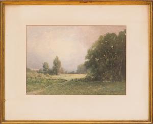 SYDNEY JANIS YARD (1855-1909): LANDSCAPE