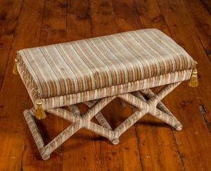 X-Base Upholstered Bench