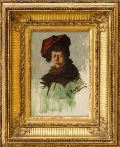 LOUIS CHARLES MOELLER (1855-1930): THE RED TAM