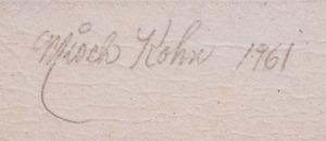 MISCH KOHN (1916-2002): LITTLE HERALD