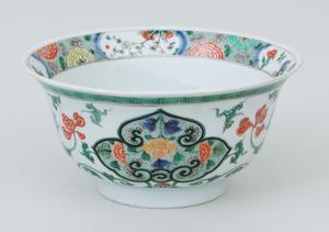 Chinese Famille Verte Porcelain Bowl
