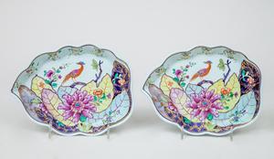 Pair of Mottahedah Porcelain