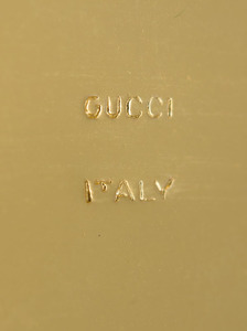 Gucci Gilt-Metal Clutch