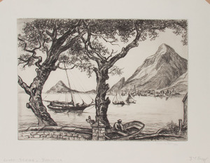 REYNOLDS BEAL (1867-1951): COAST SCENE, DOMINICA; FISHING BOATS, ST. VINCENT; NORTHEAST GALE, ROCKPORT; AND THE MACKEREL FLEET