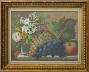 EUROPEAN SCHOOL: FRUIT AND FLOWERS