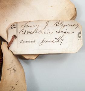 HOROLOGICAL TRADE SIGN, HENRY J. BLOWNEY