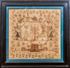 ANGLO-AMERICAN NEEDLEWORK SAMPLER