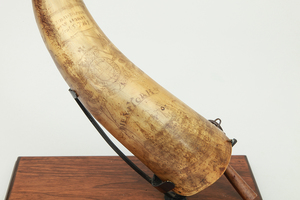 THREE HORN TABLE ARTICLES