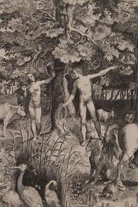 FRANÇOIS VAN BEUSEKOM (ACT. 1642-1665): ADAM AND EVE IN THE GARDEN OF EDEN
