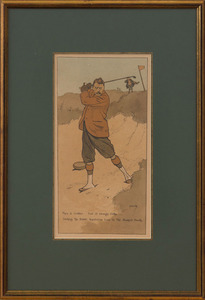 AFTER JOHN HASSALL (1868-1948): THE SEVEN AGES OF GOLF