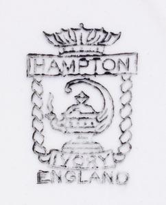 HAMPTON TRANSFER-PRINTED PORCELAIN LUNCH SET