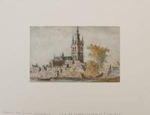 ATTRIBUTED TO JAN JOZEFSZ VAN GOYEN (1596-1656): VIEW OF NOORDVIJKERHOUT