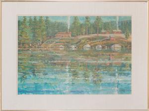 PATRICK DULLANTY (1927-2004): BUCK'S LAKE #2